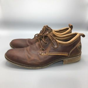 Steve Madden Brown Leather Oxfords